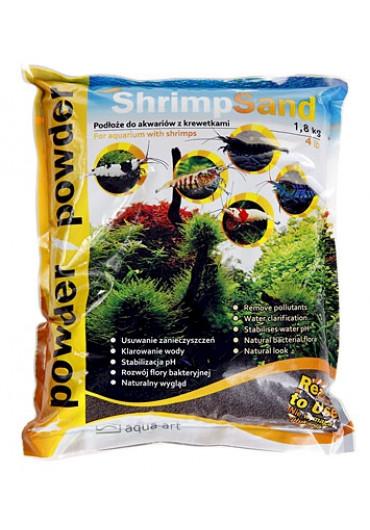 SHRIMP SAND 1,8 KG POWDER (barna) - Garnéla talaj