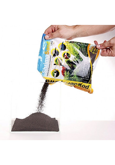 SHRIMP SAND 1,8 KG POWDER (fekete) - Garnéla talaj