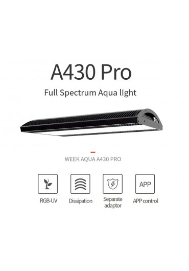 AQUA WEEK ARK A430 /ADA Style/ - PRO-APP Control LED WRGB világítás