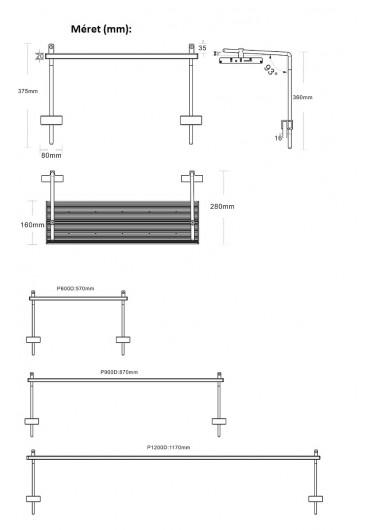 AQUA WEEK PHOENIX D - L1200 PRO-APP Control LED WRGB világítás