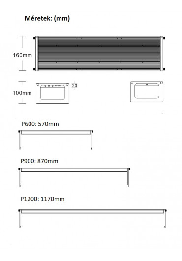 AQUA WEEK PHOENIX K - L600 PRO-APP Control LED WRGB világítás