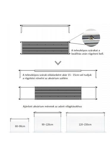 AQUA WEEK PHOENIX K - P600 RGB LED világítás