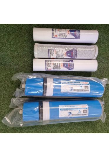 A.L AquaLine Pro 3.2 RO 2x800 GDP+Press. 6000l vízlágyító berendezés