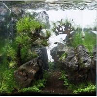 18 literes nano sziklás akvárium