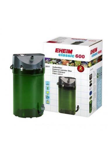EHEIM 2217 Classic 600 - Szivacs töltettel, duplacsappal