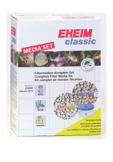 EHEIM 2213 Classic 250 - Biológiai töltettel, dupla csapokkal - Bio Starterrel