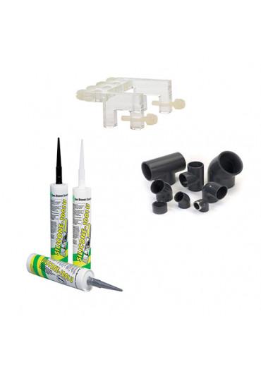 PVC idomok - kiegészítők - ragasztók