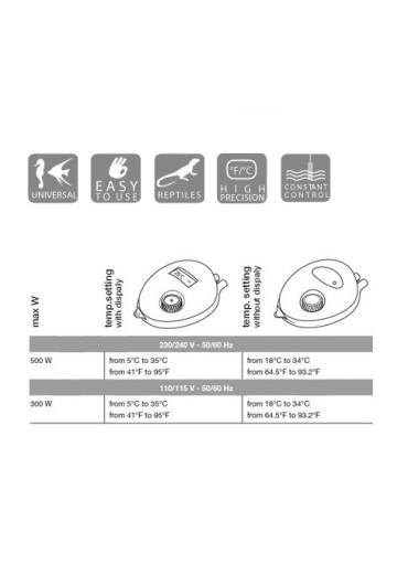 Hydor Electronic Termostat /Display/ - Elektronikus termosztát kijelzővel