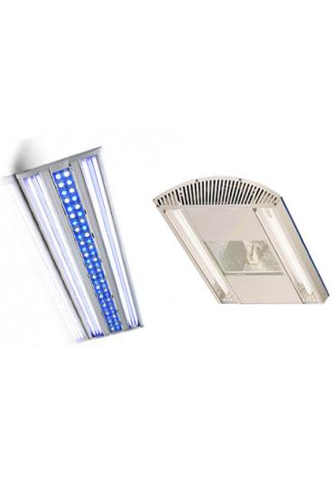 LED - Hibryd - HQI világítások