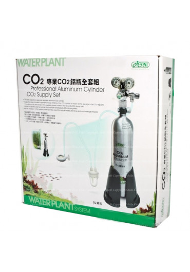 Ista Water Plant CO2 Professional 1L /Dual Pressure System/