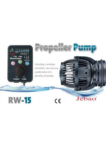 Jebao RW-15 szabályozható áramoltató pumpa szinkronizálható vezérlőv