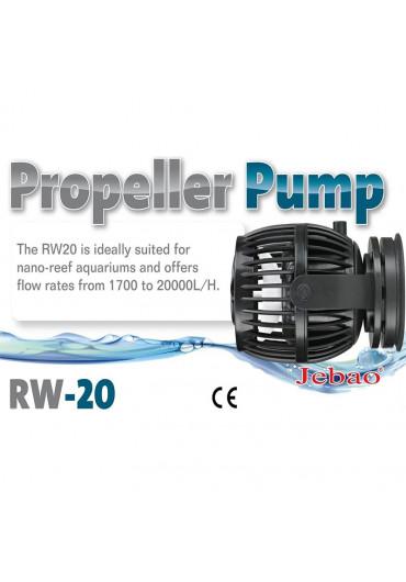Jebao RW-20 szabályozható áramoltató pumpa szinkronizálható vezérlővel