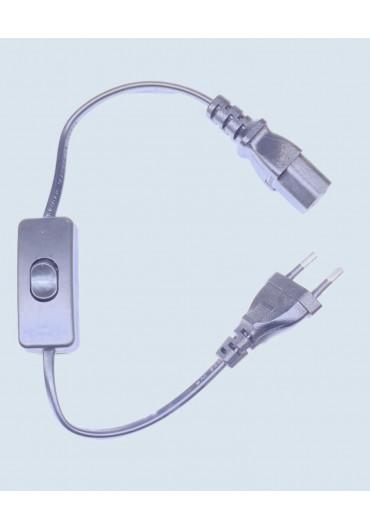 Ballast csatlakozó kábel kapcsolóval