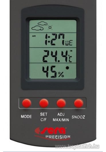 Sera reptil thermo / hygrometer digitális