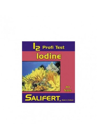 Salifert I2 test - jód teszt