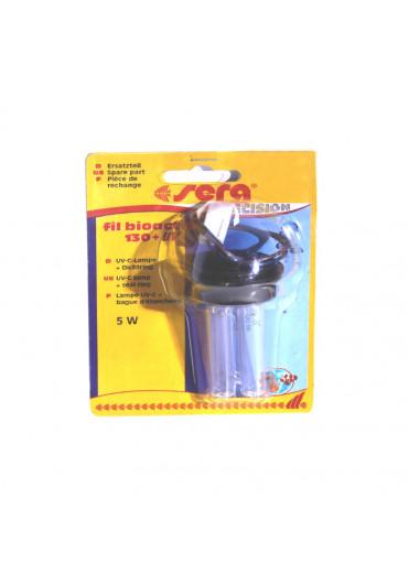 Sera UV-C 5W pótlámpa + tömítőgyűrű /130+UV-hez/