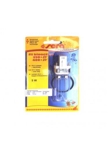 Sera UV-C 5W pótlámpa + tömítőgyűrű /250+UV, 400+UV/