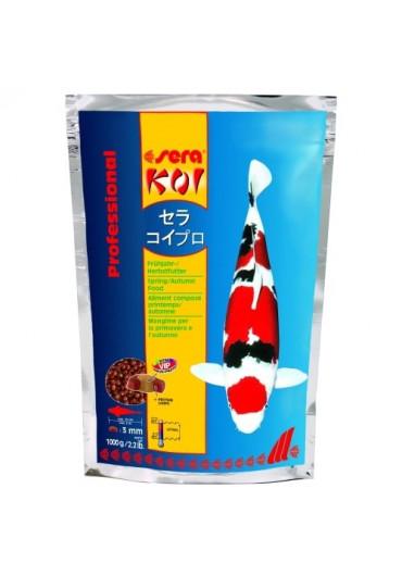 Sera Koi Professional 1000g /3mm/ tavaszi - őszi táplálék